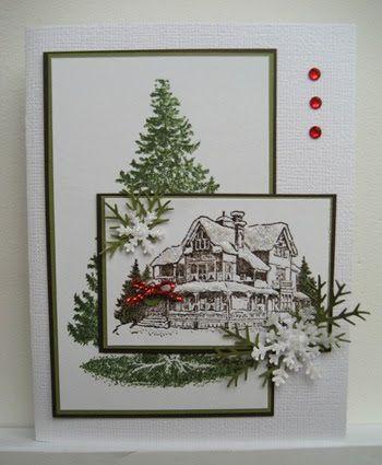 Christmas Lodge stamp set - Linda's Stampin Loft: Christmas Lodge