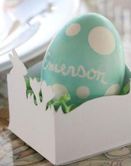 Easter Egg Holder easy craft kids   template here bunny white