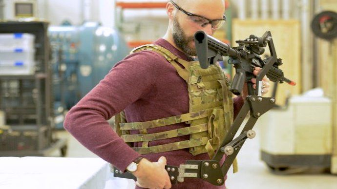 Army's 'Third Arm' Weapon Holster is Straight Out of 'Aliens'