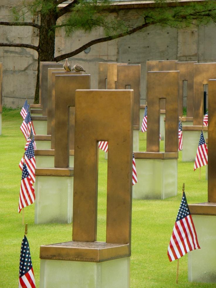 remembrance. oklahoma city national memorial. oklahoma city, oklahoma.