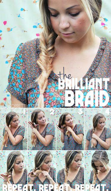 BRILLIANT BRAID TUTORIAL | She's Beautiful