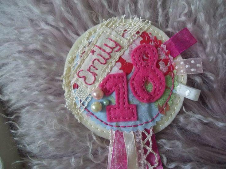 Rosette www.facebook.com/sweetlittlethingsmadewithlove