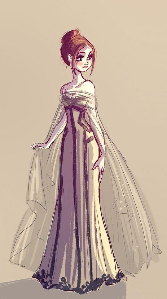 12 best anime dresses images on Pinterest | Dress designs ... |Pretty Clothes Drawings