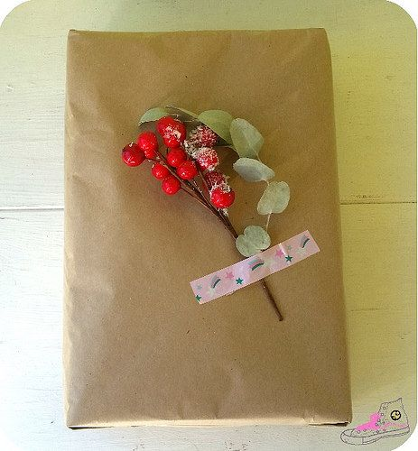 packaging con decoracion navideña