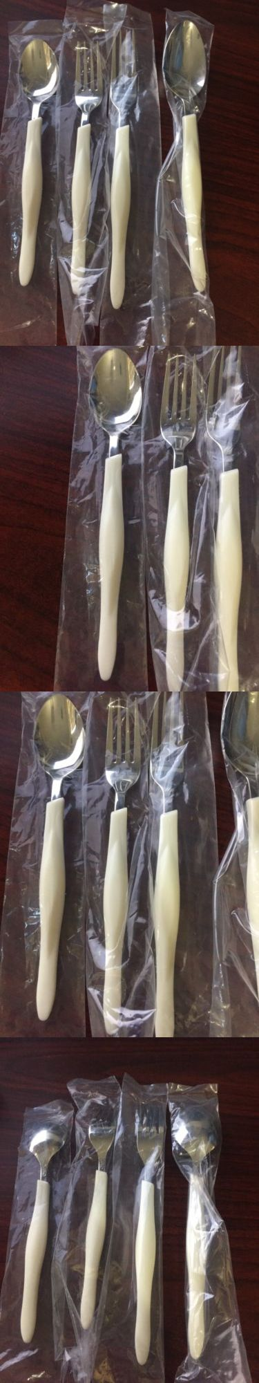 Serving Utensils and Sets 137750: New Nip Cutco Model 1546 White (Pearl) 4-Pc Traditional Flatware Place Setting -> BUY IT NOW ONLY: $84.99 on eBay!