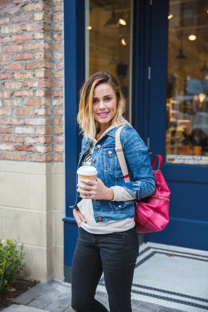 How to Mix Different colored Denim | Denim look | Denim wear | Uptown with Elly Brown