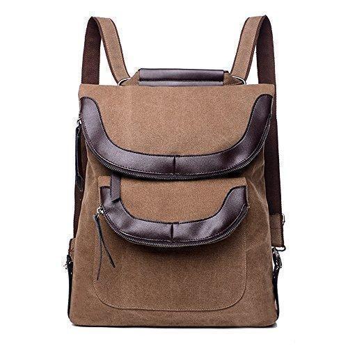 Oferta: 27.01€ Dto: -77%. Comprar Ofertas de BYD - Mujeres Man Unisex School Bag Bolsos mochila Bolsa de viaje Canvas Bag Double Zipper Design Carteras de mano Bolsos ban barato. ¡Mira las ofertas!