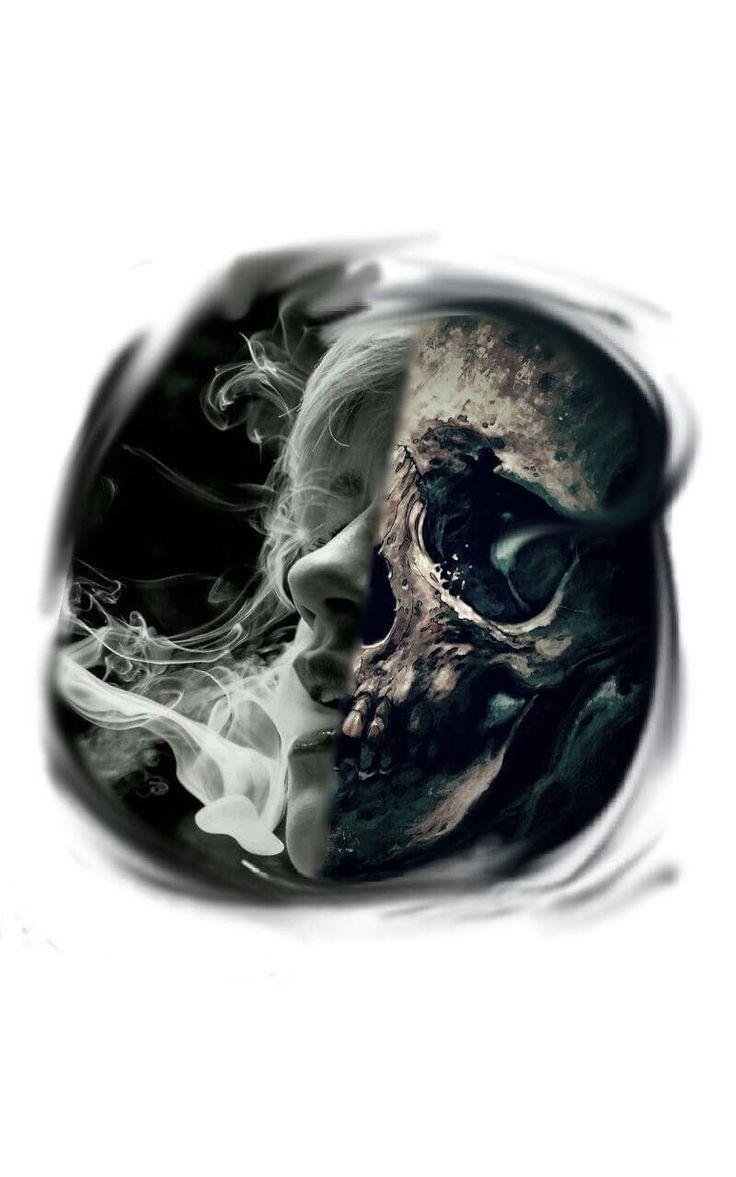 Tattoo skull, tatuagem de caveira