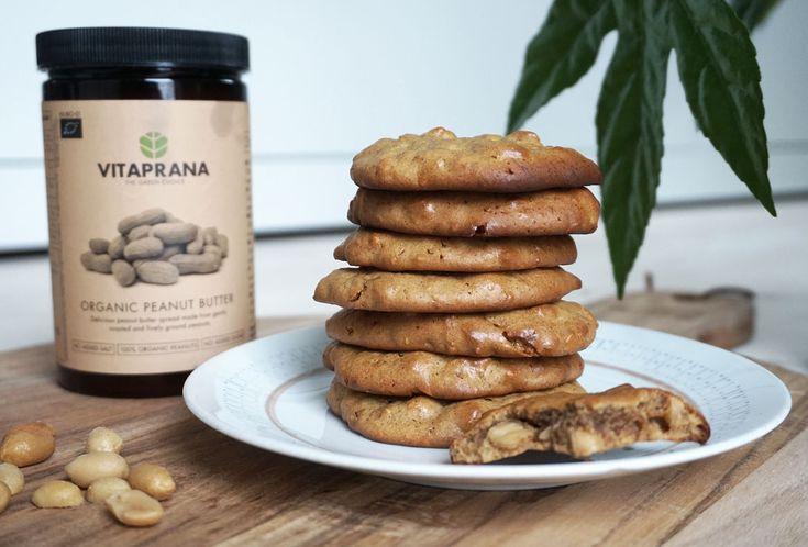 Recept: Glutenfria peanut butter cookies. Dessa jordnötskakor är supersnabba att släng ihop och innehåller endast jordnötter, ägg och honung. Läs mer.