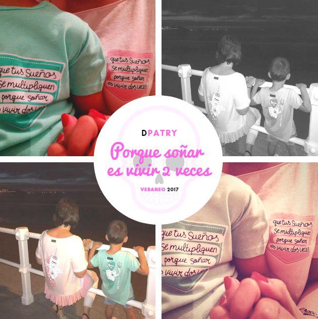 ¡Mini clientes de veraneo encantados con sus camis!  ¡Son amor!  ¡Gracias Laura por enviarme las imágenes!  #DPatry #Leonesp
