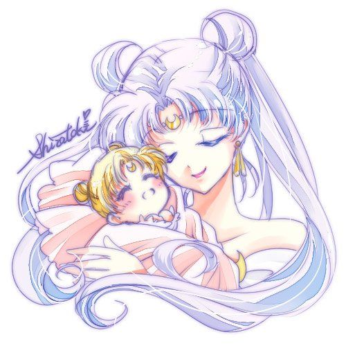 OMG. This is something I never see or think of. Baby Princess Serenity. So kawaii!!! <3