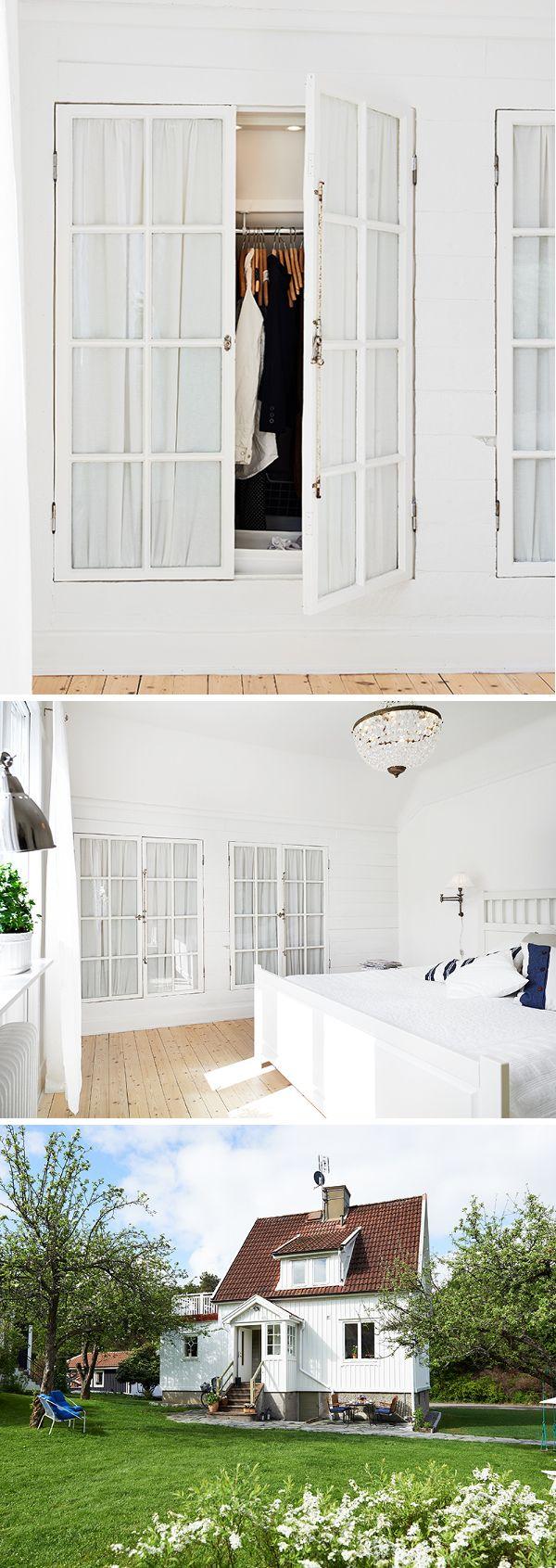 Kreativ inredning - inspirerande inredningsblogg! Check out the awesome closet....