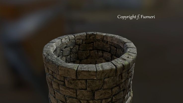 Modeling and texturing for the 3D well personal project :http://www.francescofurneri.com/modeling-texturing-well/