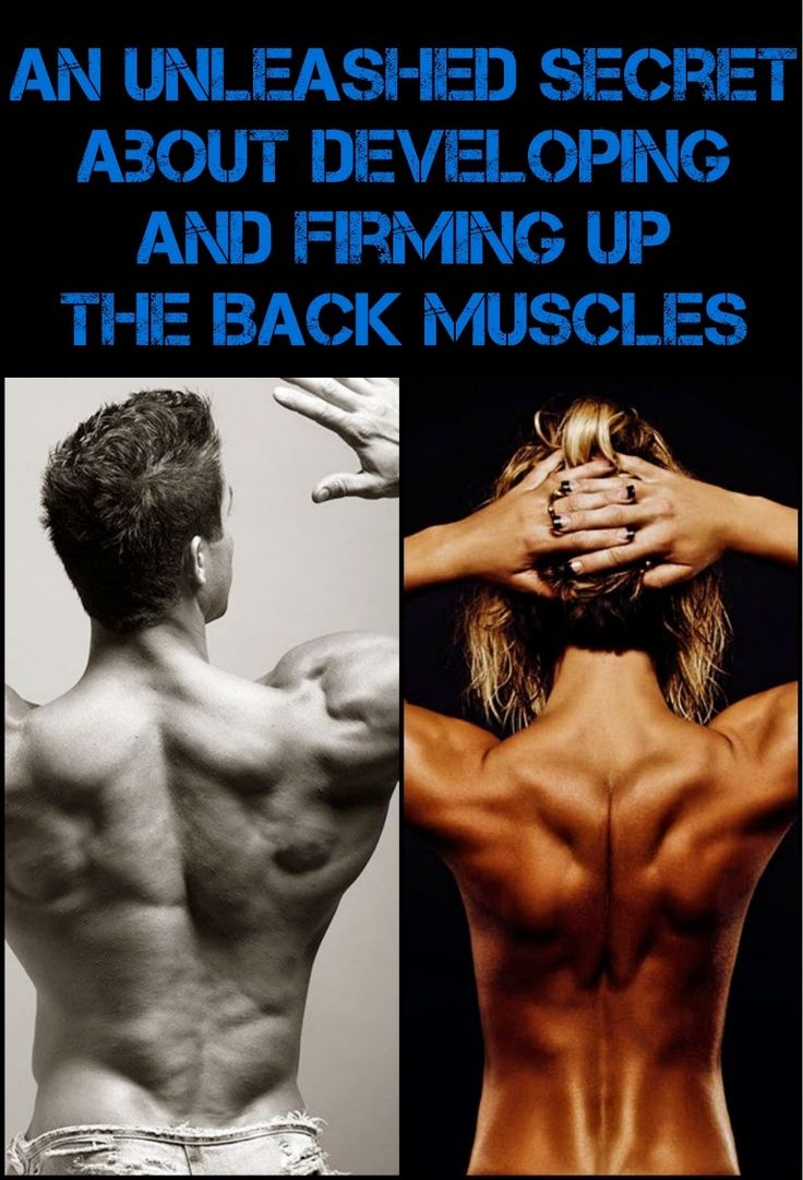 An Unleashed Secret About Developing And Firming Up The Back Muscles   HASS BODYBUILDING