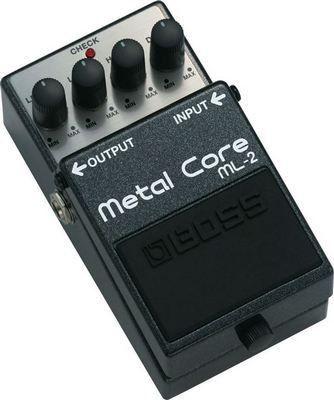Boss ML-2 Metal Core Distortion Guitar Effects Pedal