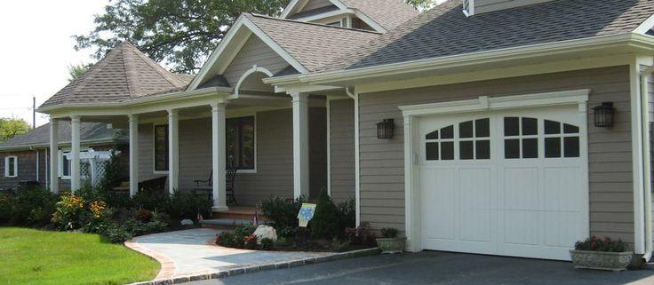 Craftsman style garage door garage pinterest for Craftsman style garage