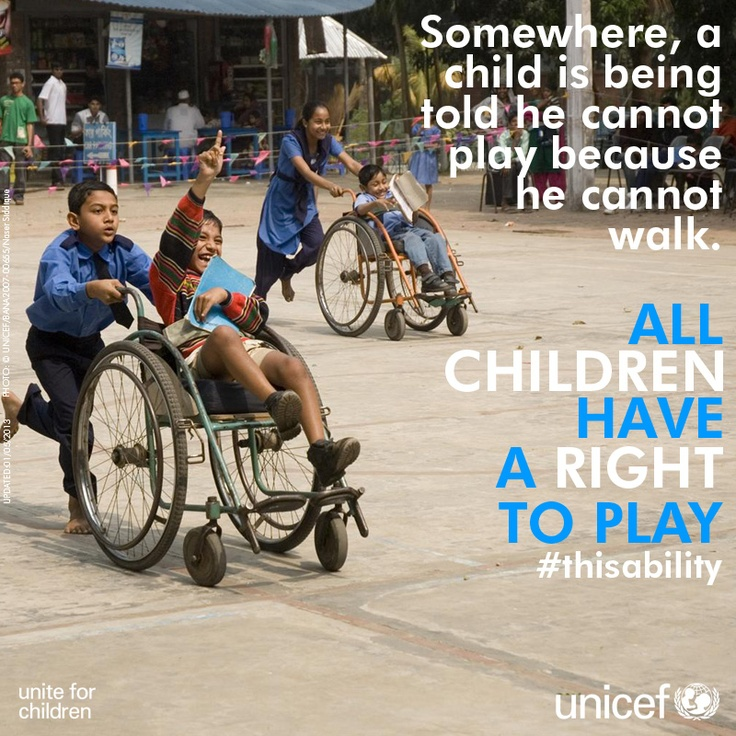 All children have the right to PLAY!