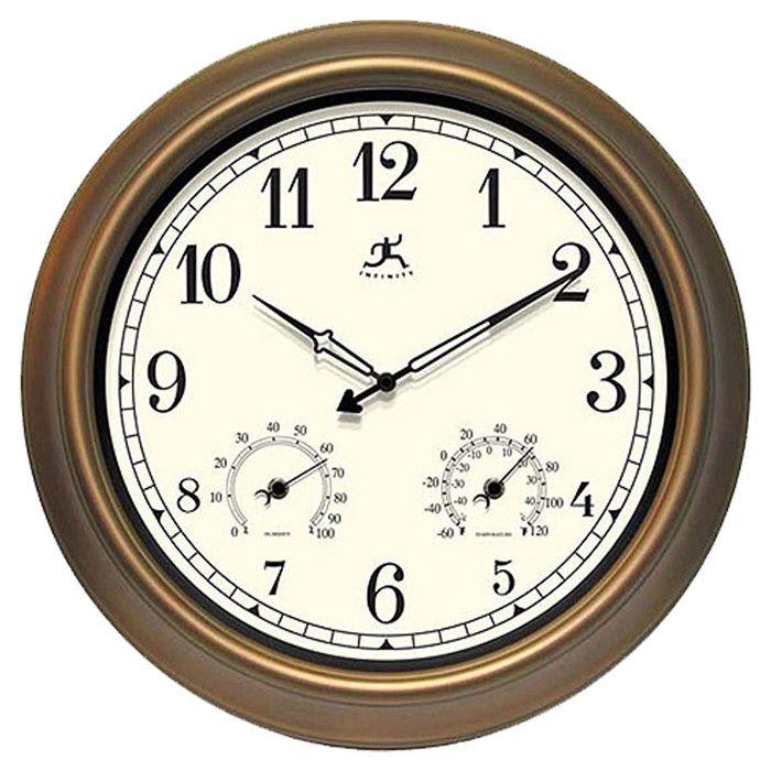 "Craftsman 18"" Wall Clock"