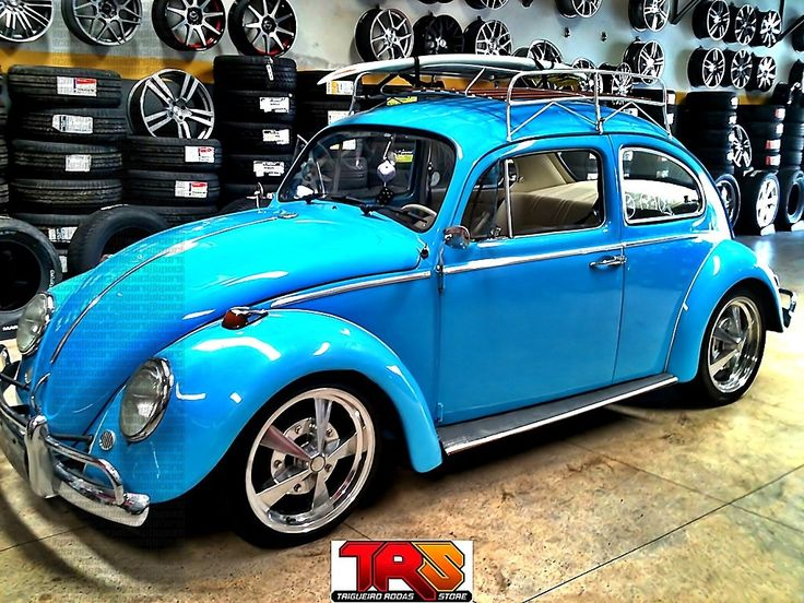 "Nada Classic Cars >> Fusca rebaixado aro 17 | Blue dropped Beetle w/ 17"" rims | Vitrine Carcessore | Pinterest | 17 ..."