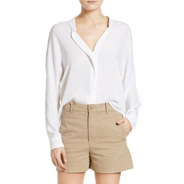 how to style see through white blouse