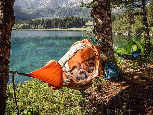 Hammock Tent Camping Concept