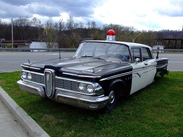 The Ford Edsel | Classic Police Cars