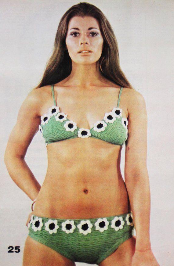f3f0ee222d90d Vintage 1970's Crochet
