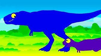Dinosaurios dibujos animados Compilations 2016 kuzyaka TV Dibujos animados para niños - YouTube