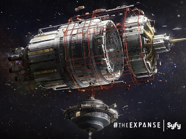 A lot went into bringing the 23rd century to life for The Expanse. Check out this concept art!