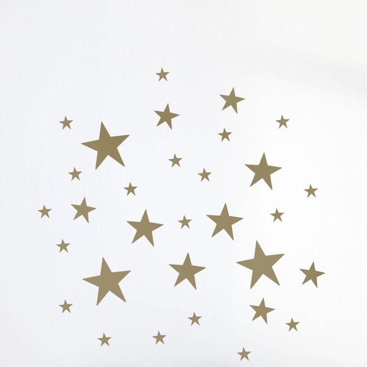 78 ideen zu wandtattoo sterne auf pinterest grauer star. Black Bedroom Furniture Sets. Home Design Ideas