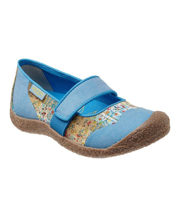 Look at this Swedish Blue Harvest Mary Jane on #zulily today!