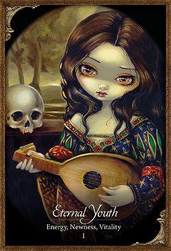 Les Vampires Oracle Tarot Deck - Eternal Youth - Jasmine Becket-Griffith, energy, vitality