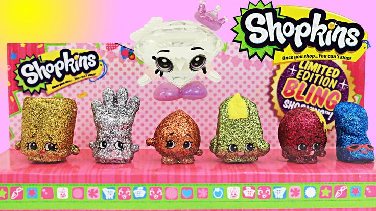 Shopkins Limited Edition Ultra Rare Toys with Gemma Stone Marsha Mellow and…