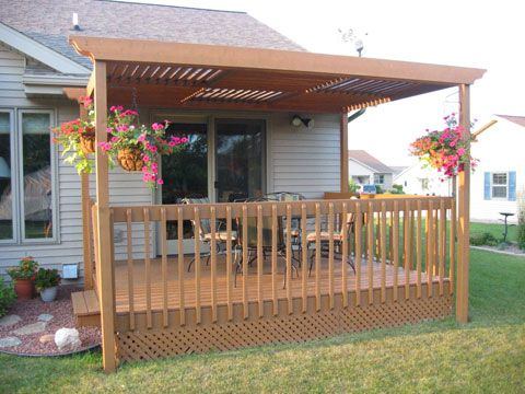 12 X 8 Patterned Pergola By CB From Manitowac WI