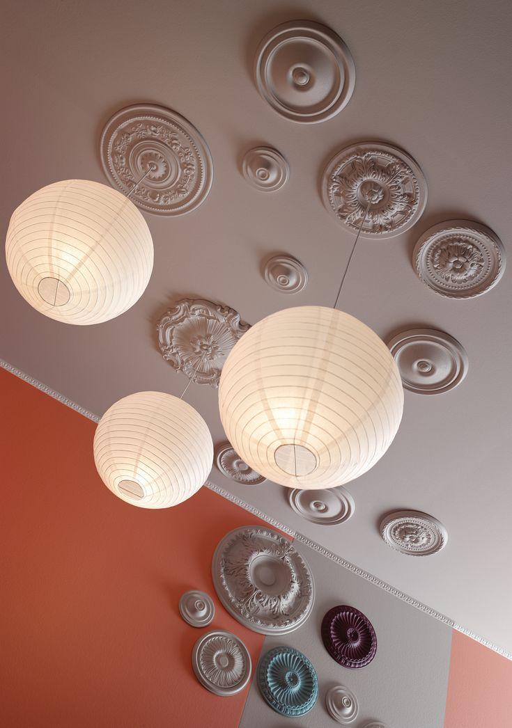 Premium quality lightweight ceiling roses