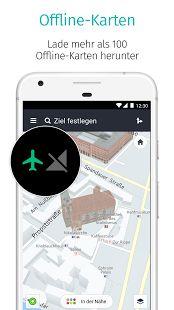 HERE WeGo - Routenplaner & GPS – Miniaturansicht des Screenshots
