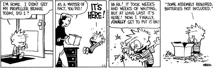 fcb6e88b794 Calvin and Hobbes by Bill Watterson for March 09 2019