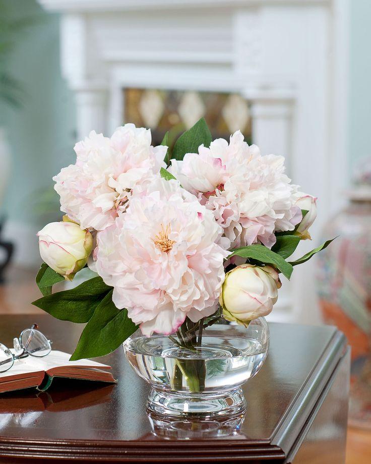 Best artificial flower arrangements with faux water