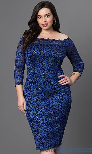 Shop knee-length dresses and short party dresses at Simply Dresses. Long-sleeve plus-size dresses and off-the-shoulder cocktail dresses.