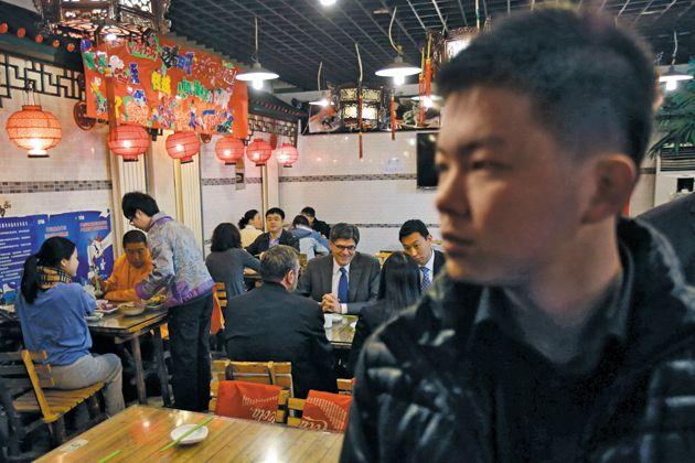 U.S. Treasury Secretary Lew (center) in Beijing. How the US gov hacks the world.