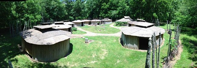 The Village | Wolf Creek Indian Village and Museum