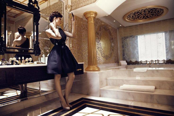 ''Jumeirah Zabeel Saray'' by Arketipo Design #Interior #Presidential #Bathroom # palace