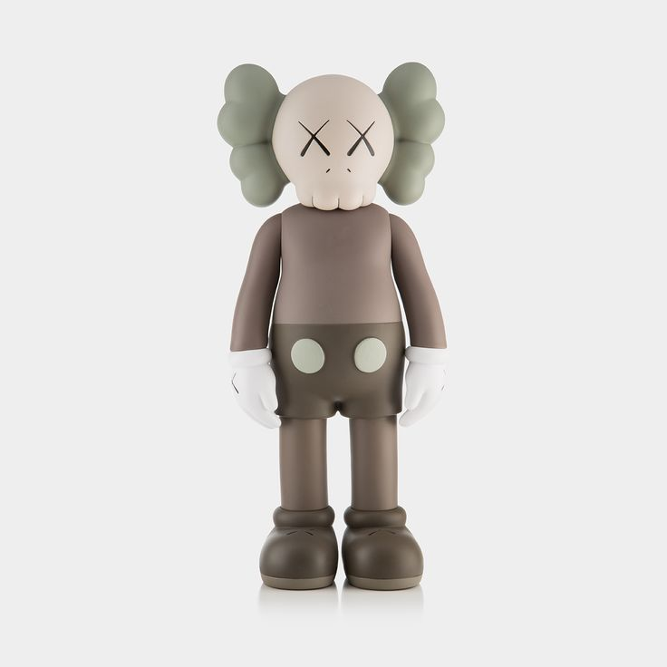 KAWS COMPANION (OPEN EDITION) – Brown:  Following our major 2016 exhibition we joined up with KAWS to give you the chance to own a KAWS COMPANION.