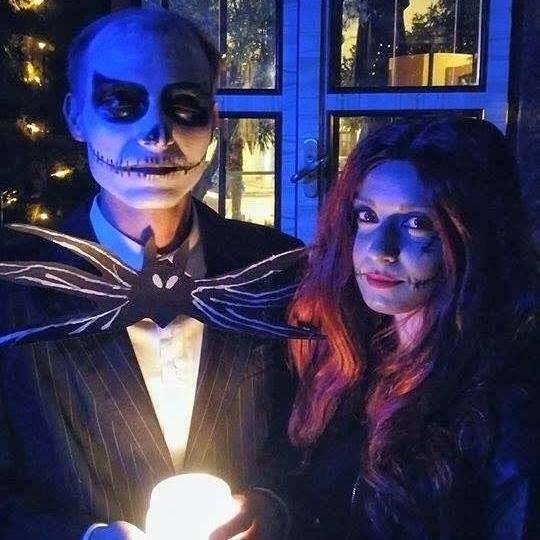 Till Death Do Us Part #halloween #jack #skellington #sally #timburton #costumes #nightmare