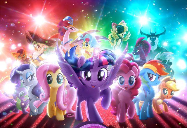 Discover a Different Breed of Hero in the Exclusive My Little Pony Poster! #NewMovies #breed #different #discover #exclusive