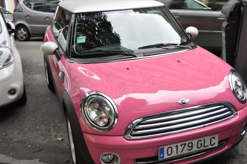 Pink Mini Coop........give me NOW