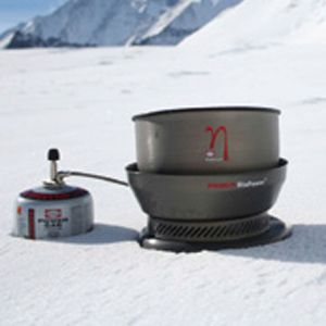 Primus launches the new Eta concept in 2006, with an efficiency rate that's nearly doubled compared to conventional stoves.