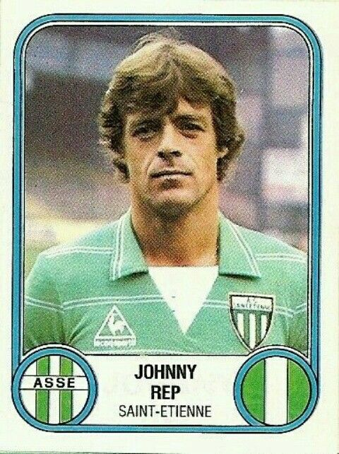 Johnny Rep of St Etienne & Holland in 1979.