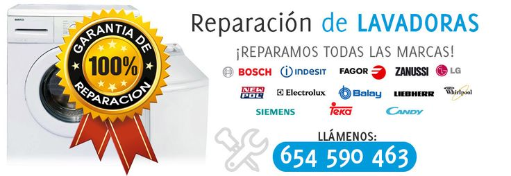 Reparaciones de lavadoras en Sevilla