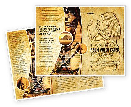 27 best tri fold brochure ideas images on pinterest for Egypt brochure templates